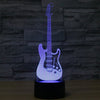 Creative 3D Electric Guitar LED Lamp
