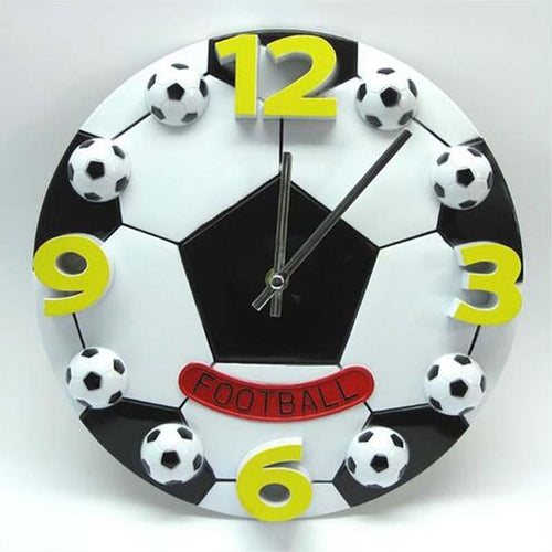 Basketball and Soccer Ball Wall Clock