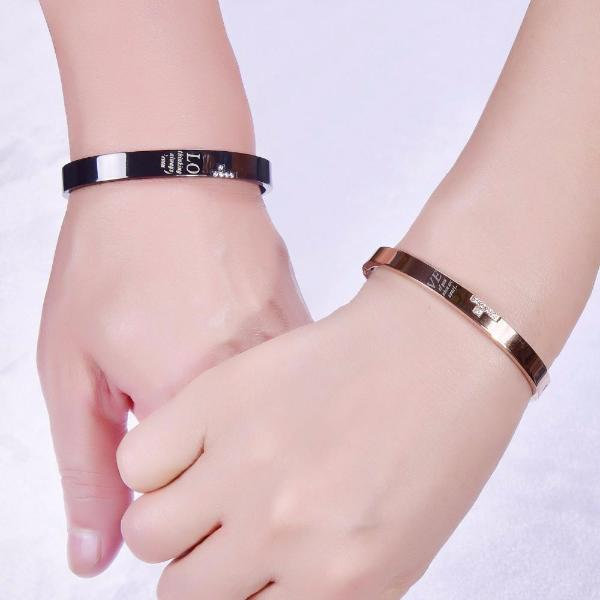 Couple Cross Bangles