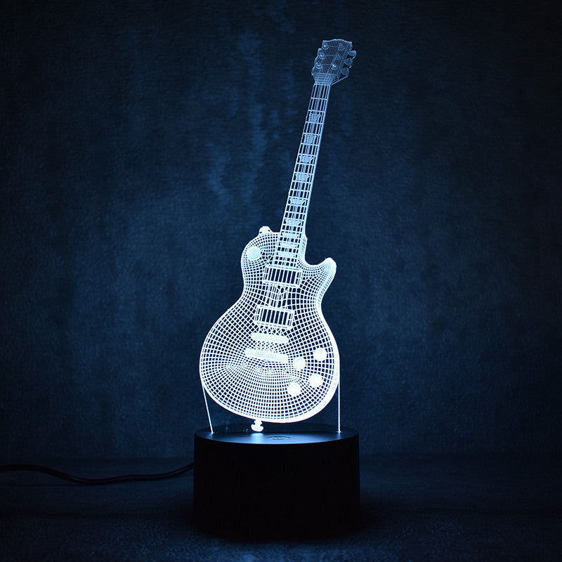 Electric Guitar LED Lamp (FREE Shipping)