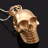 Cracked Head Skull Necklace