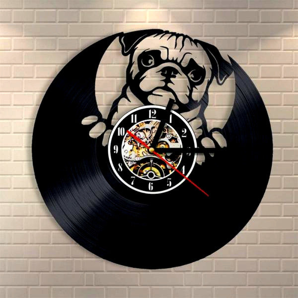 Precious Dog Wall Clock (FREE Shipping)
