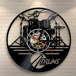 Drum Set Wall Clock