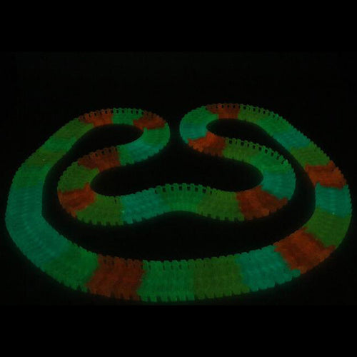 Glow In The Dark Racing Track