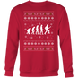 Guitarist Evolution Xmas Sweater