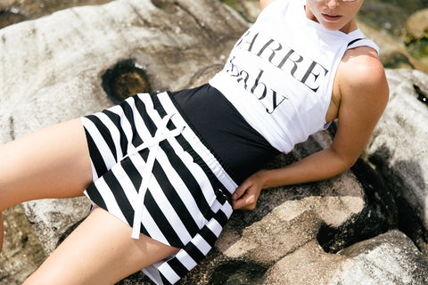 """Stripe Me"" Relaxed Short"