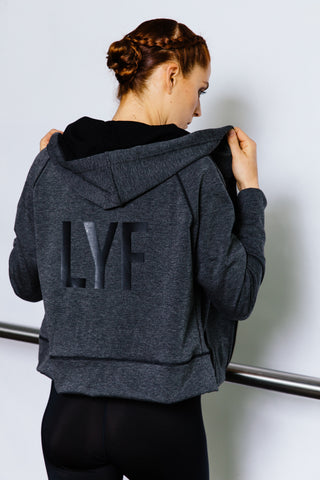 """LYF"" Hood Boxing Jacket"