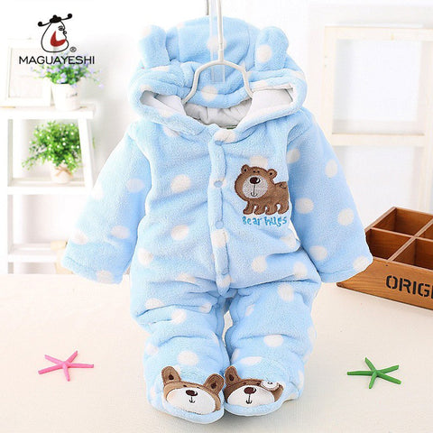 Baby Long Sleeve Infant Jumpsuit