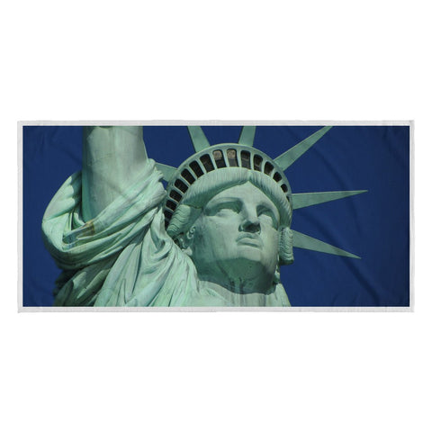 Beach Towel - Statue Of Liberty Beach Towel