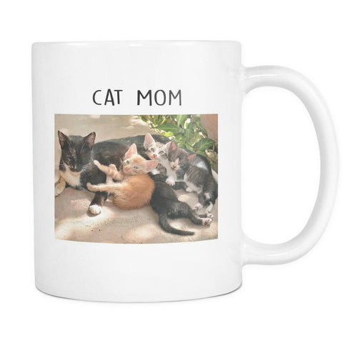 Drinkware - Forever Friends Cat Mom Mug 11oz