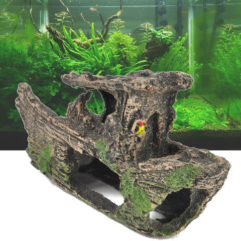 Fish - Rockery & Hiding Cave For Fish Tank