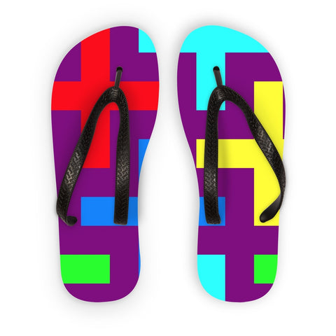 Flip Flops - Patterns Flip Flops - FREE SHIPPING