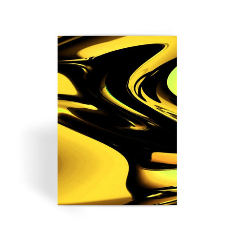 Greeting Card - Liquid Gold Greeting Card - FREE SHIPPING