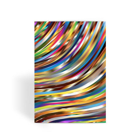 Greeting Card - Ribbons Greeting Card - FREE SHIPPING