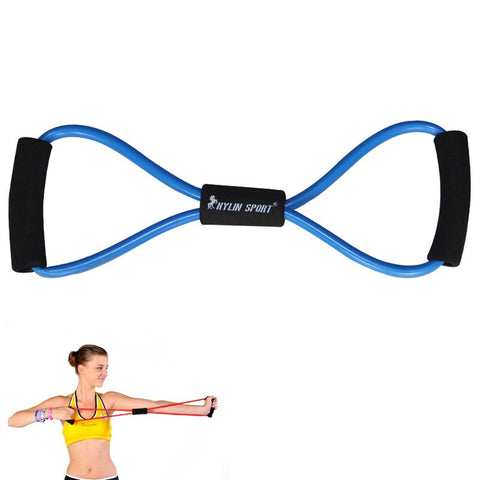 Hand Pull Resistance Band Gripper - Figure 8 Hand Pull Resistance Band Gripper