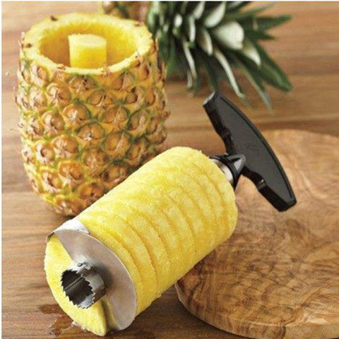 Hot New Kitchen Gadget Pineapple Corer Spiral Slicer - Free Shipping