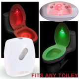 Night Lights - LED Motion Activated Toilet Lamp