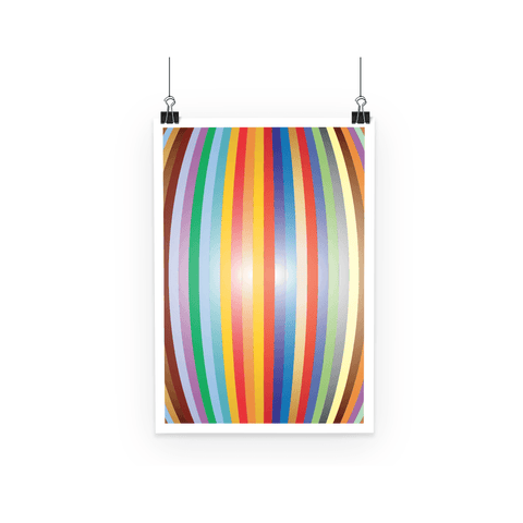 Poster - Color Stripes Poster - FREE SHIPPING