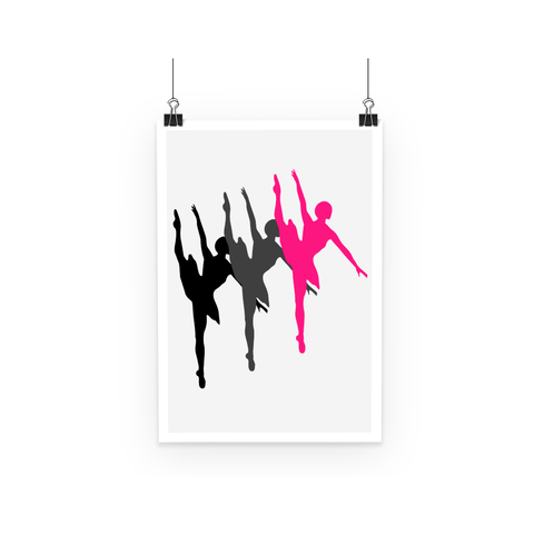 Poster - Dancers Poster - FREE SHIPPING