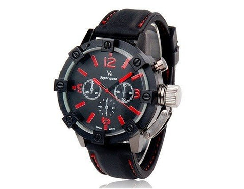 Quartz Watches - Vogue V6 3D Military Mens Mens Business Watch