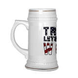 Trump Lets get to work beer stein