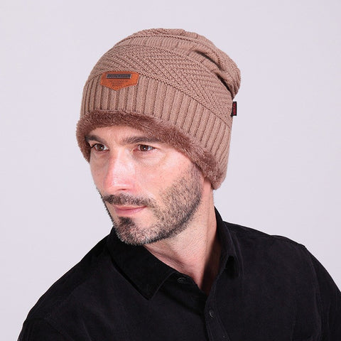 Skullies & Beanies - Winter Beanie  Knitted Wool For Men & Women