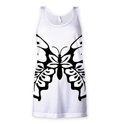 T-Shirt - Butterfly Sublimation Vest - FREE SHIPPING