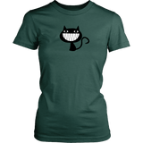 T-shirt - Cheeky Smile Cat Tee Shirt Or Hoodie
