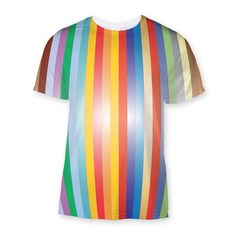 T-Shirt - Color Stripes Sublimation T-Shirt - FREE SHIPPING