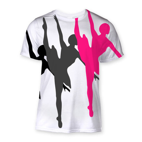 T-Shirt - Dancers Sublimation T-Shirt - FREE SHIPPING