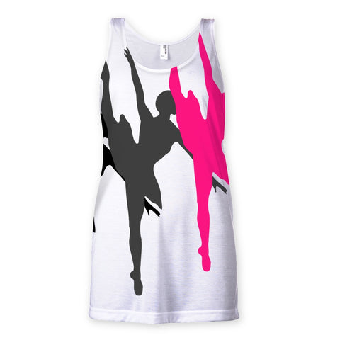 T-Shirt - Dancers Sublimation Vest - FREE SHIPPING