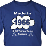 T-shirt - Made In 1966 Tee Shirt Or Hoodie
