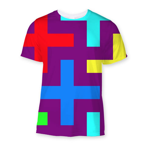 T-Shirt - Patterns Sublimation T-Shirt - FREE SHIPPING