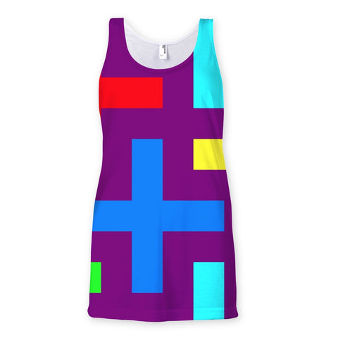 T-Shirt - Patterns Sublimation Vest - FREE SHIPPING