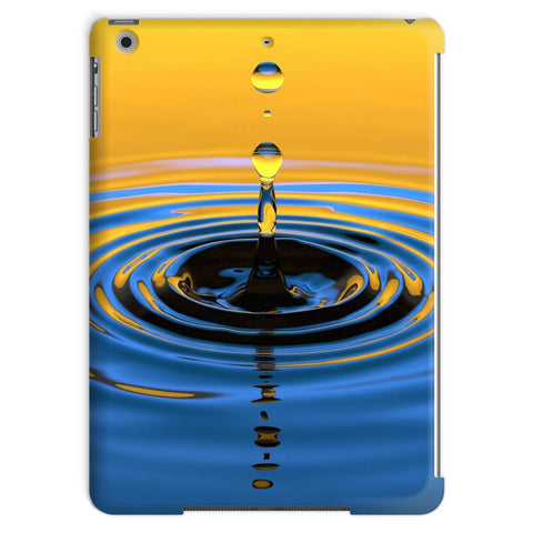 Tablet Case - Orange Water Drop Tablet Case - FREE SHIPPING
