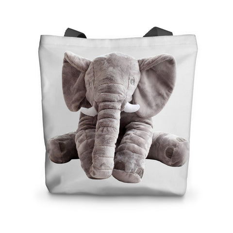 Tote Bag - Elephant Toy Tote Bag - FREE SHIPPING