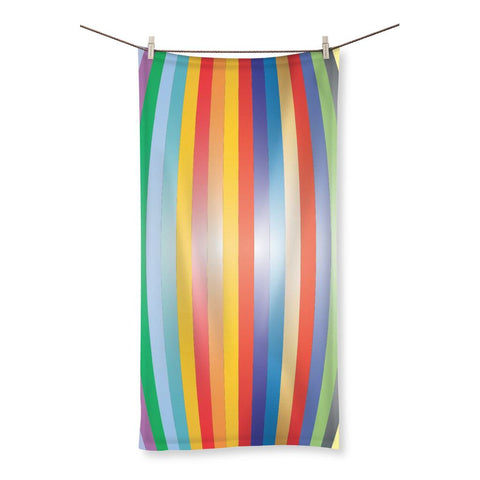 Towel - Color Stripes Beach Towel - FREE SHIPPING