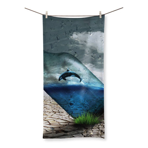 Towel - Desert Bottle Beach Towel - FREE SHIPPING