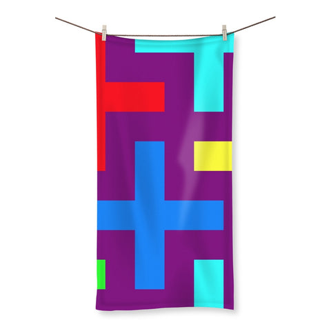 Towel - Patterns Beach Towel - FREE SHIPPING