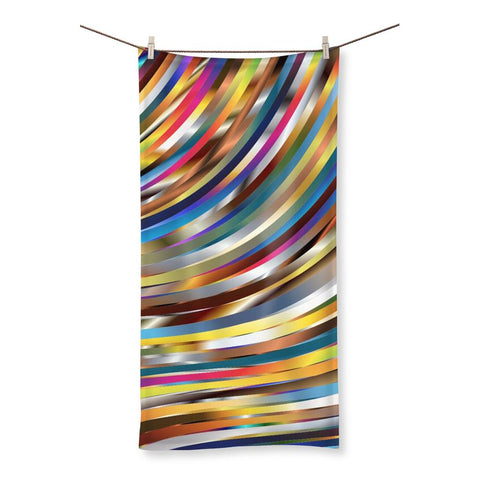 Towel - Ribbons Beach Towel - FREE SHIPPING