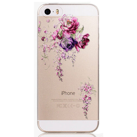 Phone Cases For iphone 6 6s 5 5s SE Soft TPU