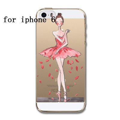Phone Case Cover For iPhone 6 6S 5 5S SE 6plus Soft Silicon