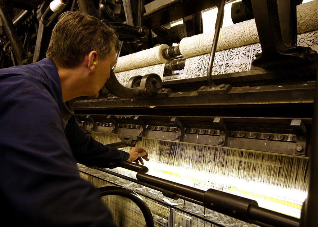 The last Nottingham lace maker