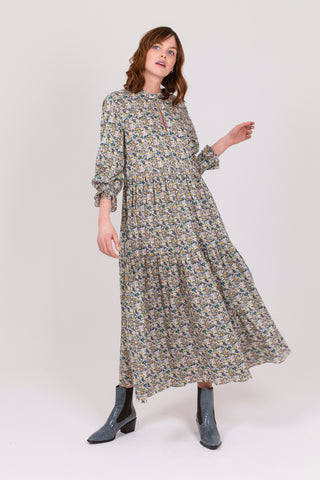 Liberty Meadow Floral Cotton Camden Passage Dress