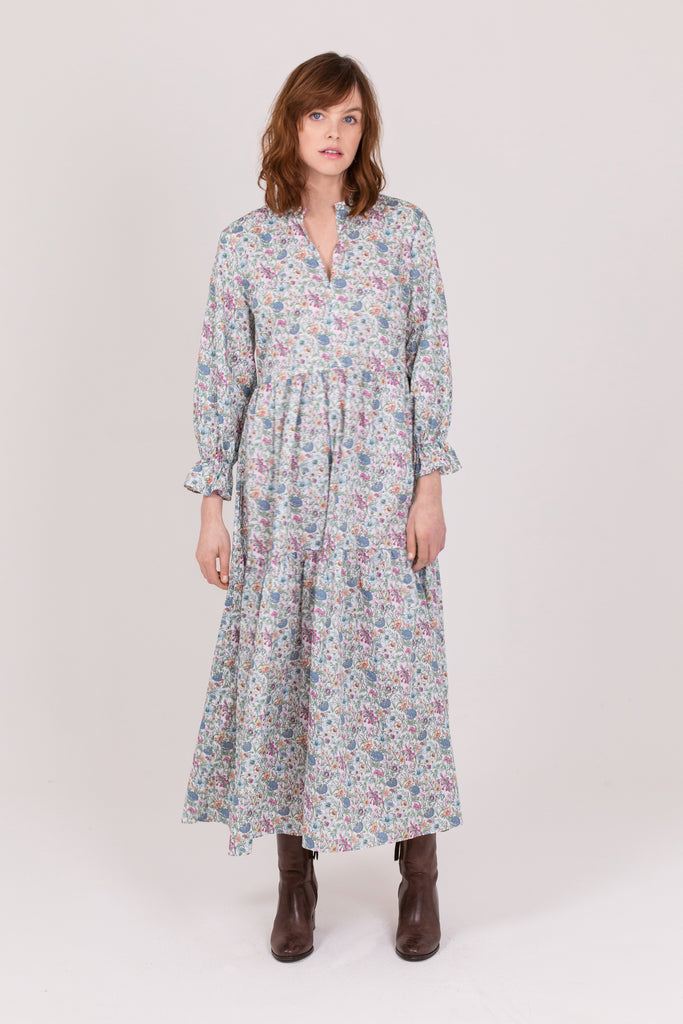 Liberty Wimbledon Floral Cotton Camden Passage Dress