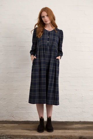 Toasty Tartan Market Dress
