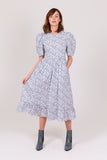 Forget-me-not Cotton Frome Dress