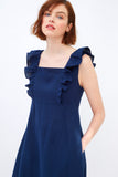 Linen Holland Park Dress