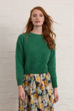 Green Wool Teddy Jumper