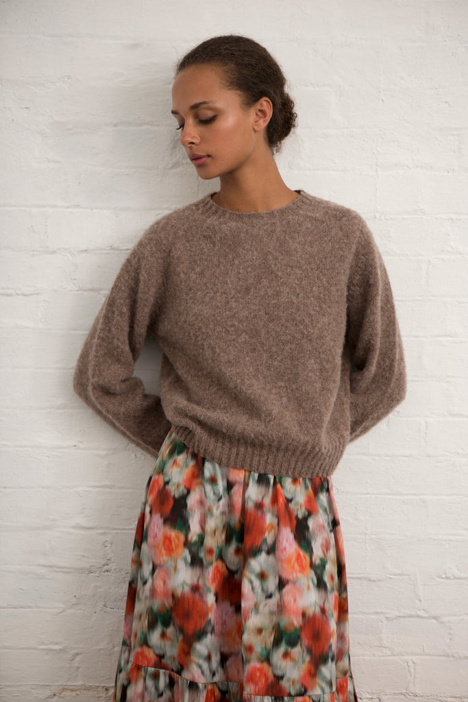 Nutmeg Wool Teddy Jumper